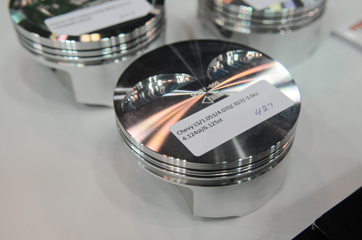 IMIS 2012: New LS Pistons From Probe Industries