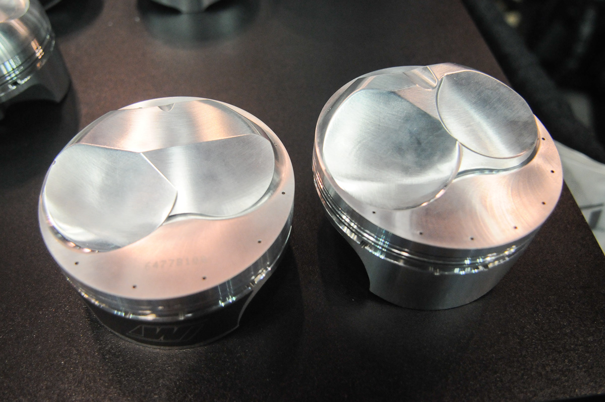 IMIS 2012: Wiseco's Second-Gen Quick 16 BBC Drag Race Pistons