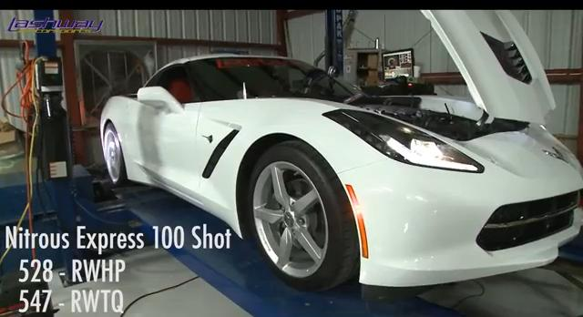 Lashway Motorsports First to Install 100-shot of Nitrous on a C7
