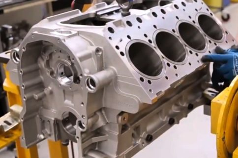 Videos: Watch the Assembly of a Bentley V8 Torque Monster
