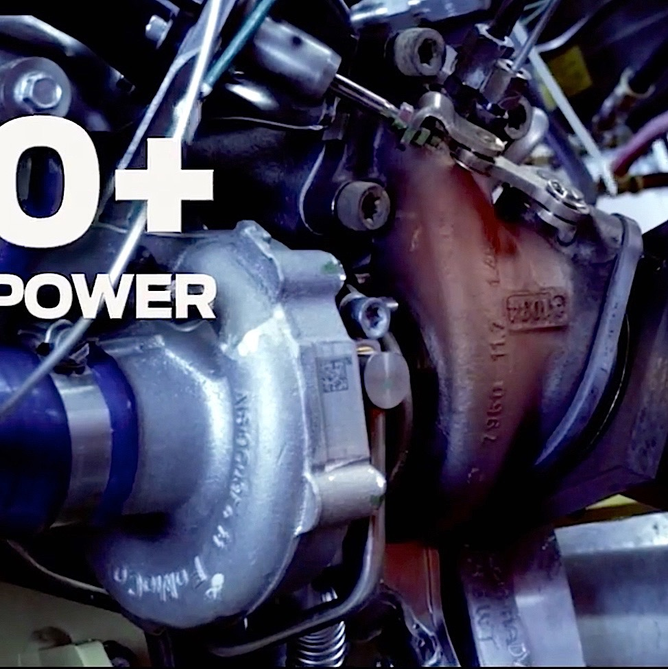 Ford Didnt Reveal Much About The New  Plus Horsepower Twin Turbo V Ecoboost Engine That Will Power The Next Gt Supercar Heres The Only Shot Of The