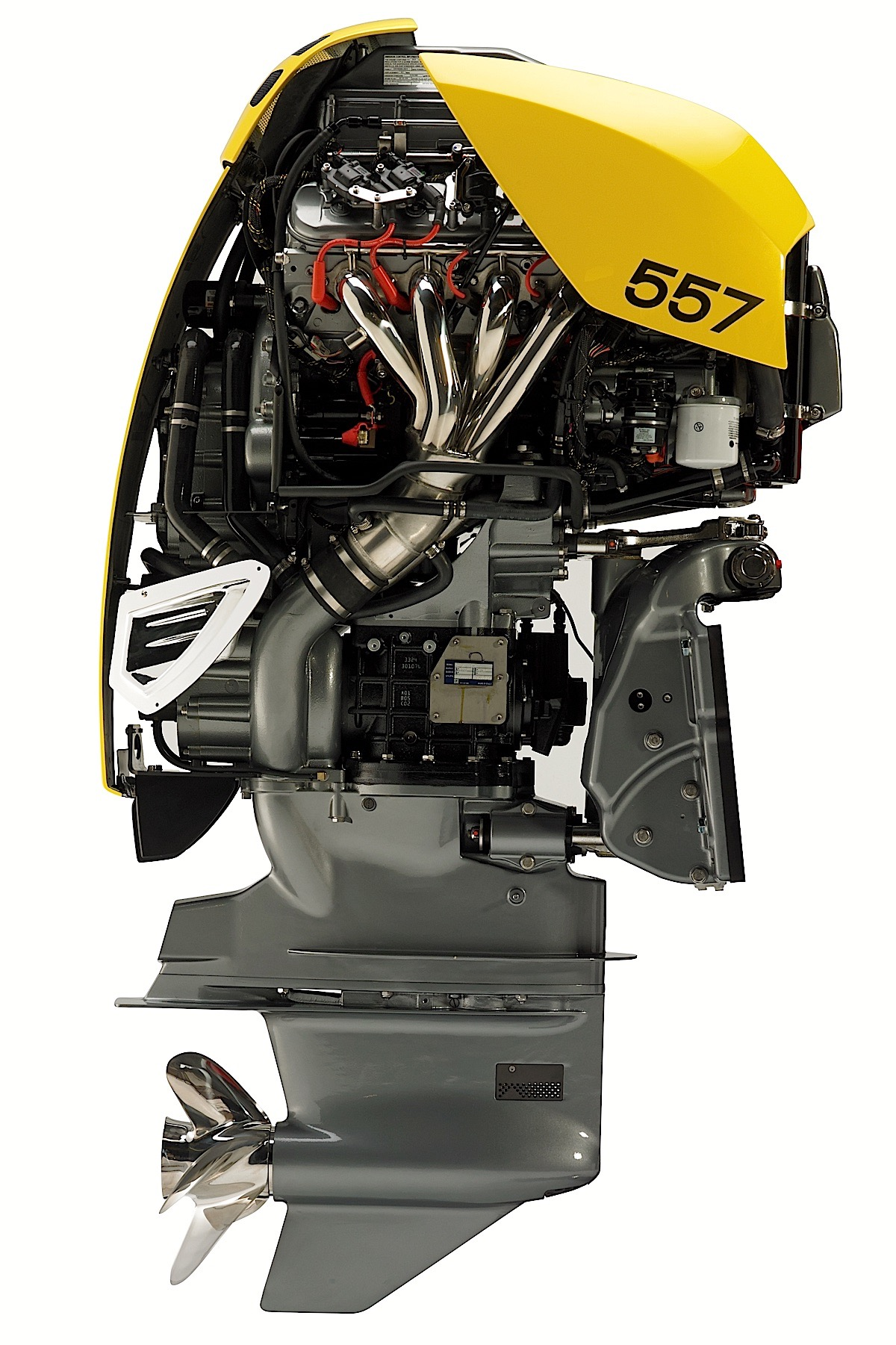 World 39 s most powerful outboard relies on supercharged lsa v8 for 90 hp outboard motor prices