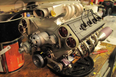 Video: Intricate Home-built Scale V8 Engine Is Simply Marvelous
