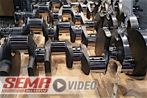 SEMA 2017: SCAT's New Lightweight 9000 Series Crankshaft For SBC