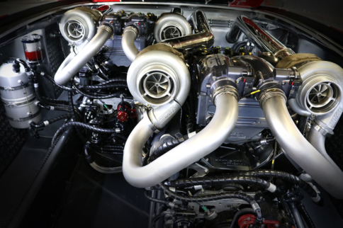 Video: Twin Turbo Flex-Fuel Engine Pumps Out 1,900HP