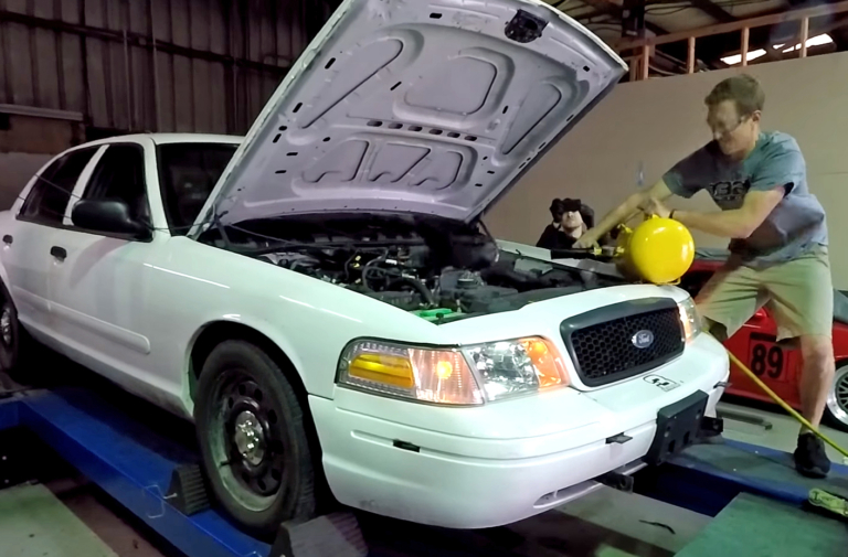 Video: What Happens When You Dump An Air Tank Into Your Intake?